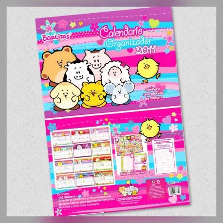 Calendario Organizador Borlitas 2012