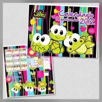 Calendario Organizador Loi Woops 2012