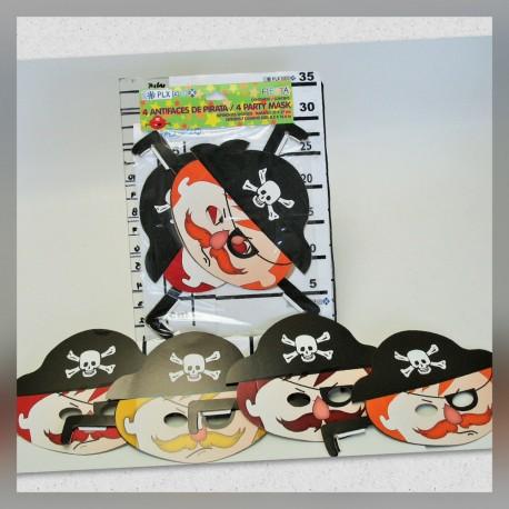 Antifaz de Pirata para Fiesta
