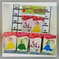 Princess Party Popcorn Box