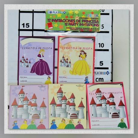 Invitaciones de Princesa para Fiesta