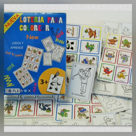Loteria para Colorear