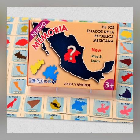 Memoria de los Edos. de la Rep. Mex.
