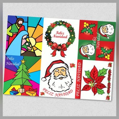 Adorno Electrostático Navidad