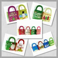 Bag with Handle Big Heart Christmas 2s