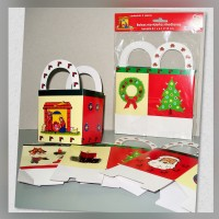 Bolsa c/asa Navidad Mediano 4s