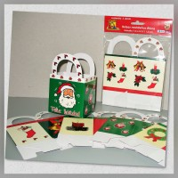 Bag with handle small 6s. Christmas