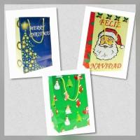 Bolsa Shopping Grande Navidad