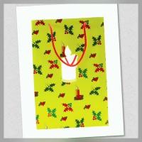 Big Shopping Bag with Big Swages. Christmas
