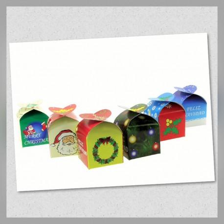 Caja Tipo Corazón Navidad