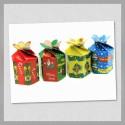 Caja Tipo Flor Navidad