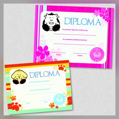 Diplomas Borlitas