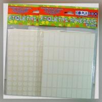 Etiquetas Adhesivas Blancas