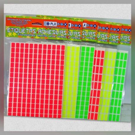 Etiquetas Adhesivas Fluorescentes