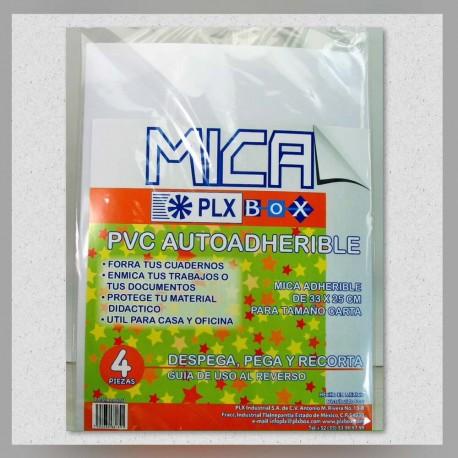 Mica Adhesiva Carta 4s
