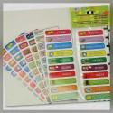 Etiquetas para Materias Primaria