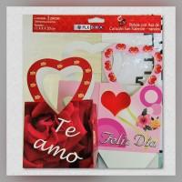 Bolsa c/asa Corazón San Valentin Grande 2s