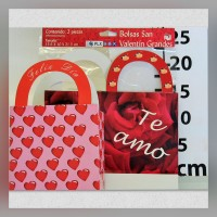Bag with handle Big Valentine's Day 2s