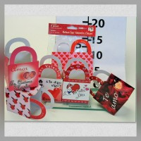 Bag with handle Small Valentine's Day 6s