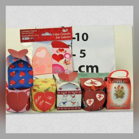 Caja tipo Corazón 6s San Valentin