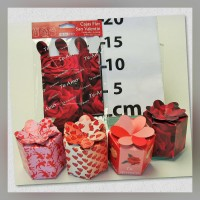 Caja tipo Flor 4s San Valentin
