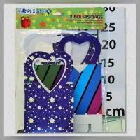 Bag with handle big Heart T-O