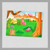 Puzzle The three Little Pigs 24s