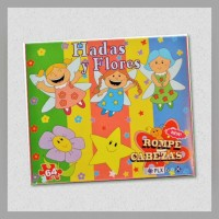 Puzzle Fairies and Flowers