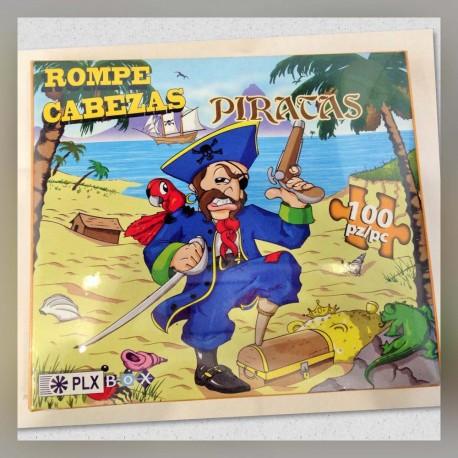 Rompecabezas Pirata c/Perico 100s