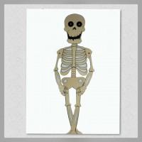 Figura Móvil Calaca Halloween