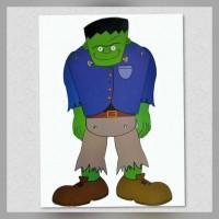 Figura Móvil Frankie Halloween