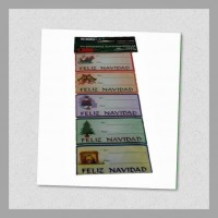 Tarjetas Navideñas 15 X 10 cm con Sobre