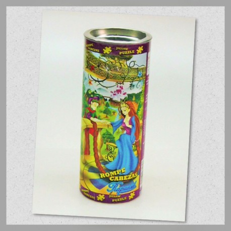 Rompecabezas Cilindro Rapunzel 100s