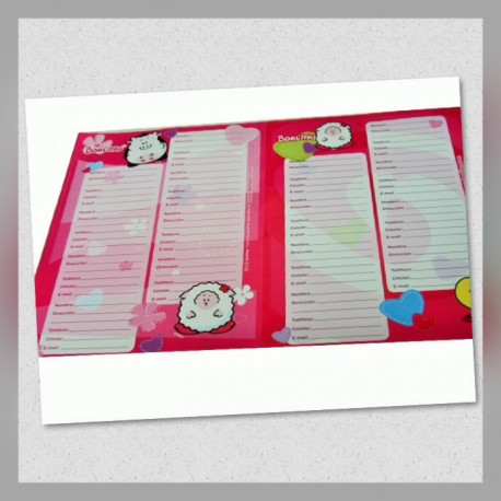 Etiquetas con Agenda Borlitas